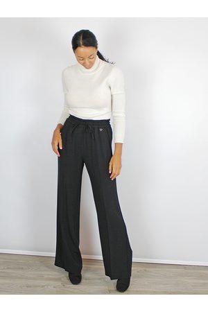 Twin-Set Wide Leg Trousers Black
