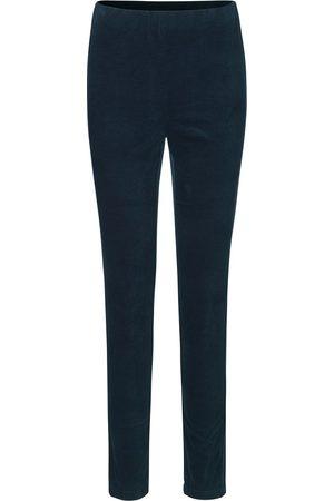 Rosemunde Women Trousers - Velvet Trousers - Dark Blue