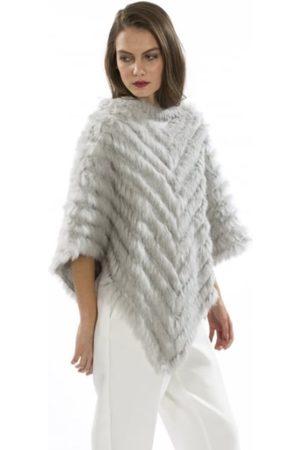 Jayley FMP245A Faux Fur Poncho