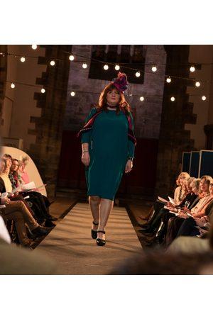 Roisin Linnane Ivy Tunic Dress in Petrol