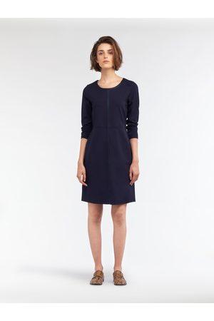 Sandwich Clothing Women Casual Dresses - SANDWICH JERSEY DRESS NIGHT SKY