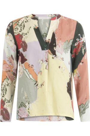 Coster Copenhagen Long Sleeve Blouse - Flamingo Flower