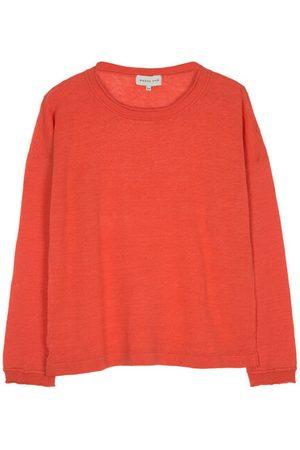 Maison Anje Women Jumpers - Lepia Sweater - Sunset