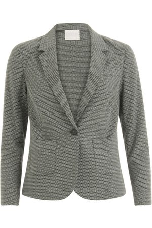 Coster Copenhagen Women Blazers - Suit Jacket with Stretch Jacquard - Sea Grass Jacquard