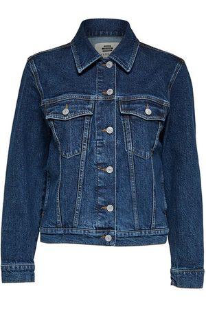 SELECTED Women Denim Jackets - Story spruce denim jacket
