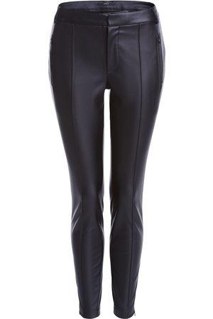 SET Set Vegan Leather Trousers
