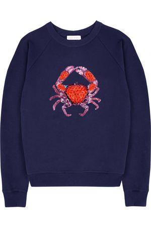 Uzma Bozai Cora Crab Sweatshirt - Navy