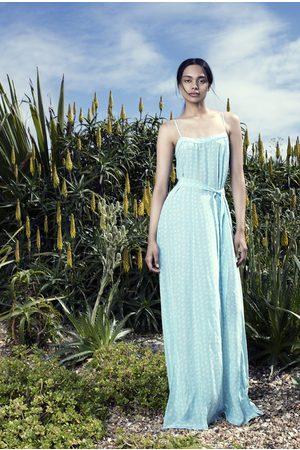 Uzma Bozai Women Maxi Dresses - Mona Maxi Dress - Aqua