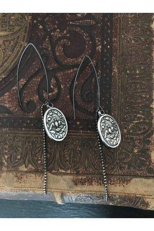 Window Dressing the Soul Women Earrings - WDTS 925 oxidised icon earrings