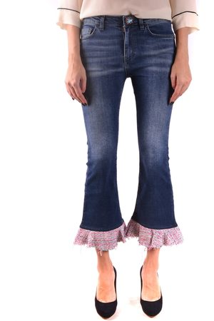 Pinko Flared Jeans With Pink Flare