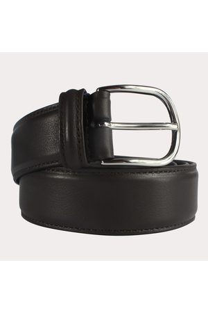 Anderson's Andersons Leather Belt - Dark Brown Smooth