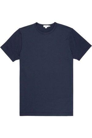 Sunspel Classic Crew Neck T-Shirt - Navy