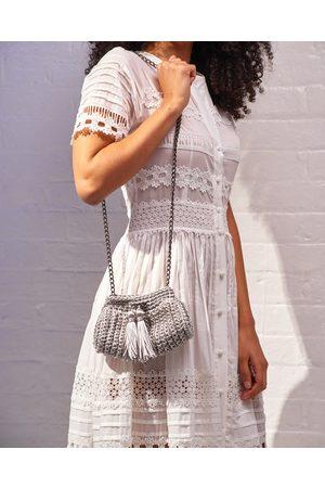 Ladi For Blaiz Crochet Cross-Body Bag