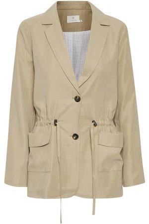 Kaffe KAgustava Suit Blazer - Cobblestone