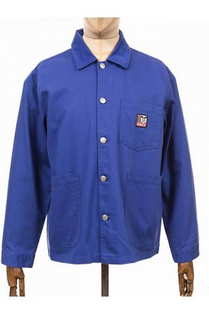 Obey Clothing Pebble Chore Jacket - Ultramarine Size: Small, Colour: U