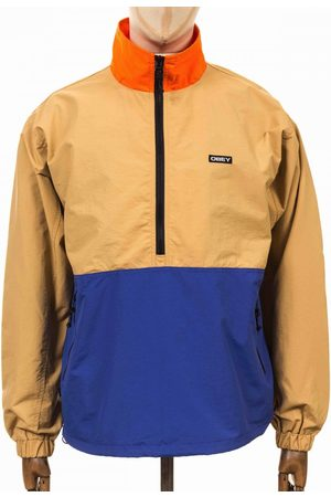 Obey Men Parkas - Clothing Tucker Anorak - Almond Multi Colour: Almond Multi