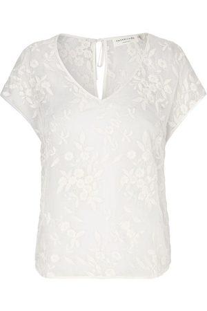 Rosemunde Women Tops - Ivory Lace Top