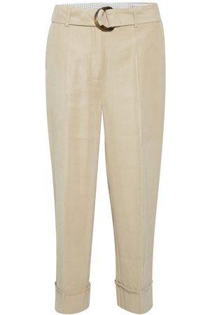 Kaffe KAgustava Suit Trousers - Cobblestone