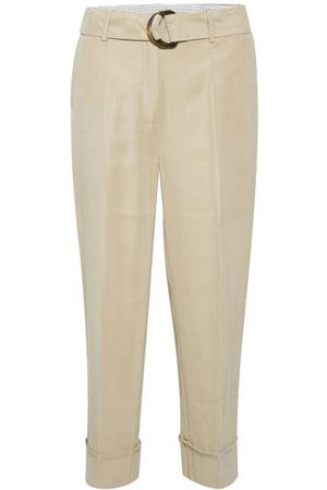 Kaffe Women Trousers - KAgustava Suit Trousers - Cobblestone