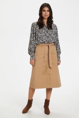 Part Two Belina Skirt - tannin - 30304942