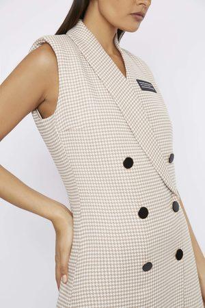 Whyte Studio Women Sleeveless Dresses - THE 'DEACTIVATE' SLEEVELESS BLAZER DRESS