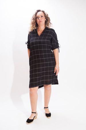 ROSSO35 Check Shirt Dress
