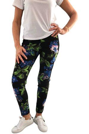 "Up Pants Women Skinny Trousers - 66836 28"" Slim Leg Side Slit Pull On Trouser - Miami"