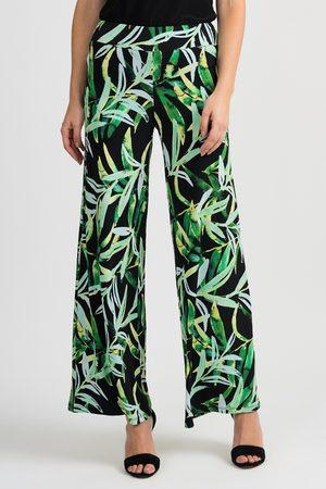 Joseph Ribkoff Women Trousers - EXOTIC PRINT TROUSERS
