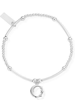 ChloBo Cute Mini Moon & Stars Bracelet