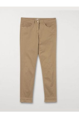 Luisa Cerano Skinny Fit Cropped Trouser Jeans 608102/1883 Soft Camel