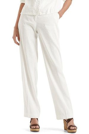 Marc Cain Collections Stretch pants in linen blend NC 81.52 W47