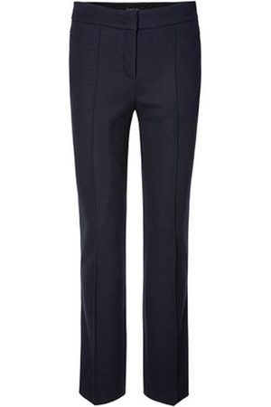 Marc Cain Collections Wool Trousers Midnight MC 81.21 J42