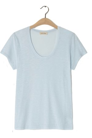 American Vintage Women Short Sleeve - Jacksonville V-Neck T-Shirt