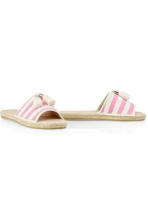 Marc Cain Espadrille-style mules Neon Rose NB SI.01 W09