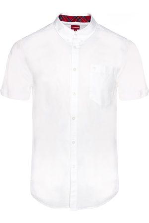Merc London Baxter Short-Sleeved Shirt