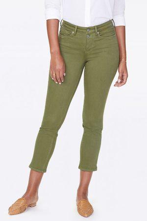 NYDJ Women Skinny Trousers - Sheri Slim Ankle - Olivine MFOZSA2827
