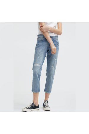 Denham Women Trousers - Monroe HR Girlfriend Fit - Rip & Repair