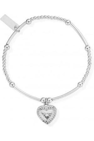 ChloBo Women Bracelets - Cute Mini Star Heart Bracelet SBCM004