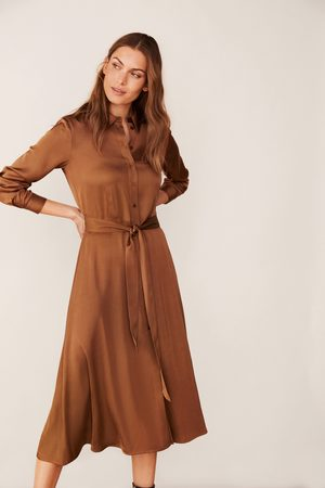 Eva Lucia Part Two Eriona Dress - Hazel brown- 30305463