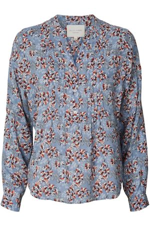 Lollys Laundry Helena Shirt Blue Floral