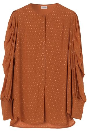 By Malene Birger Women T-shirts - Milaelle Dotted Shirt - Vintage Camel