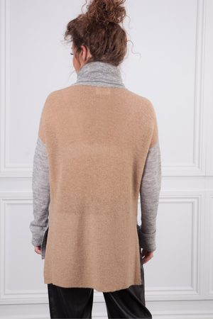 Sita Murt Women Jumpers - Long Polo with Drop Back