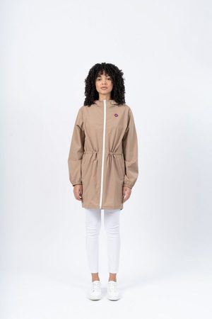 der flotte Boy Women Rain Jackets - Amelot Raincoat Sahara