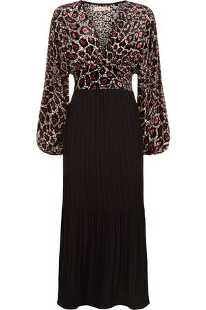 Eva Lucia Traffic People Caution Dress- black/pink- 12014014