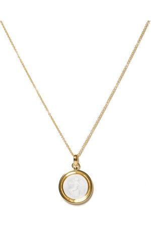 TOM WOOD Men Necklaces - Eros Cameo 14kt -plated Pendant Necklace - Mens