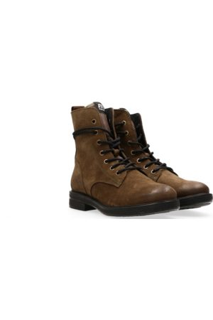 Maruti Anabela Suede Ankle Boots
