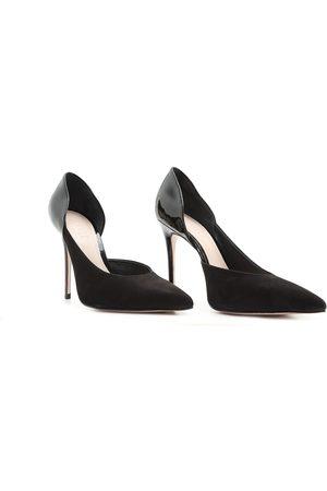 Schutz Contrast Stiletto Heels
