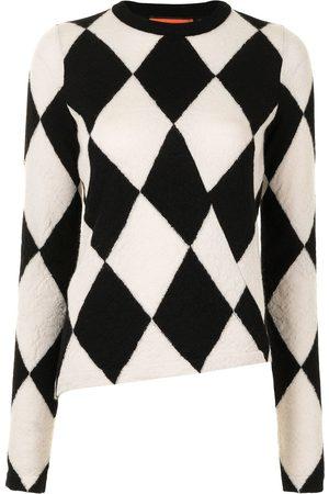 Colville Diamond print jumper