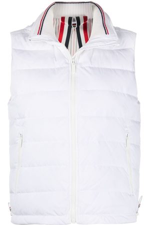 Thom Browne Rear stripe padded gilet