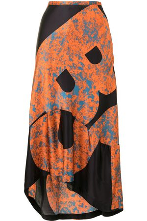 Colville Women Skirts - Abstract high-low skirt
